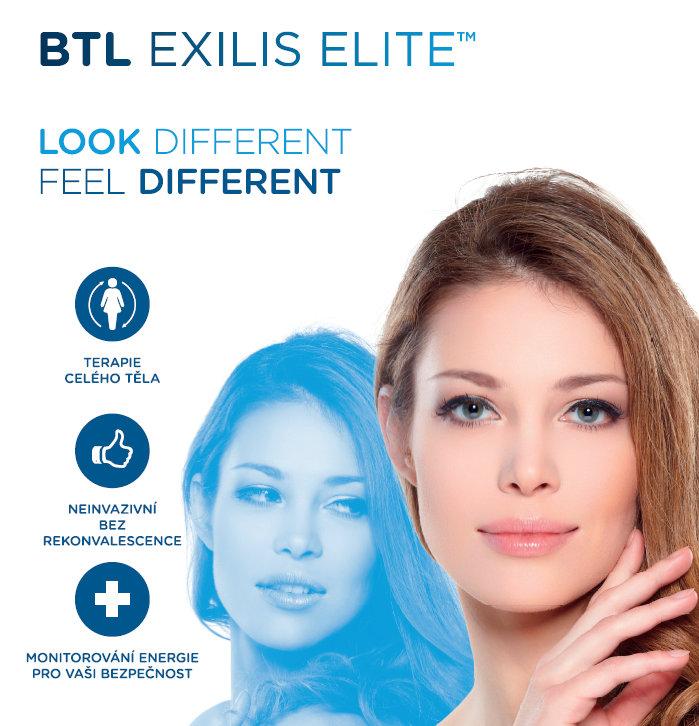 BTL Exilis Elite - bezbolestná liposukce a zpevnění pokožky, Beauty Studio Dana, Praha 9