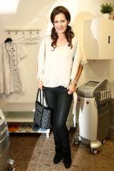 Modelka Doležalová - otevření Beauty Studia Dana Scholleová